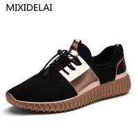 2017 New Summer Breathable Shoes Men Flat Shoes Autumn Fashion Men Shoes Couple Casual Shoes Plus