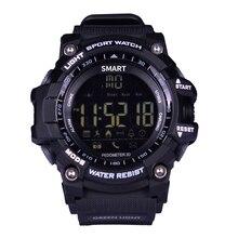 EX16  Smartwatch Sport Man Bracelet Bluetooth Steps Calorie Distance Record Waterproof Call Message Reminder Data Analysis