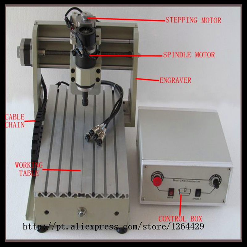 mini cnc milling machine 3020 T-D200 engraving machine, CNC router/ cutter made in china 200W Spindle ly cnc router 3020 z d 500w spindle engraving machine with the limit switch small mini cnc milling machine