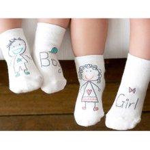 Носки, нескользящей манжеты загрузки носок тапочки девочка младенческой ноги пара мягкие