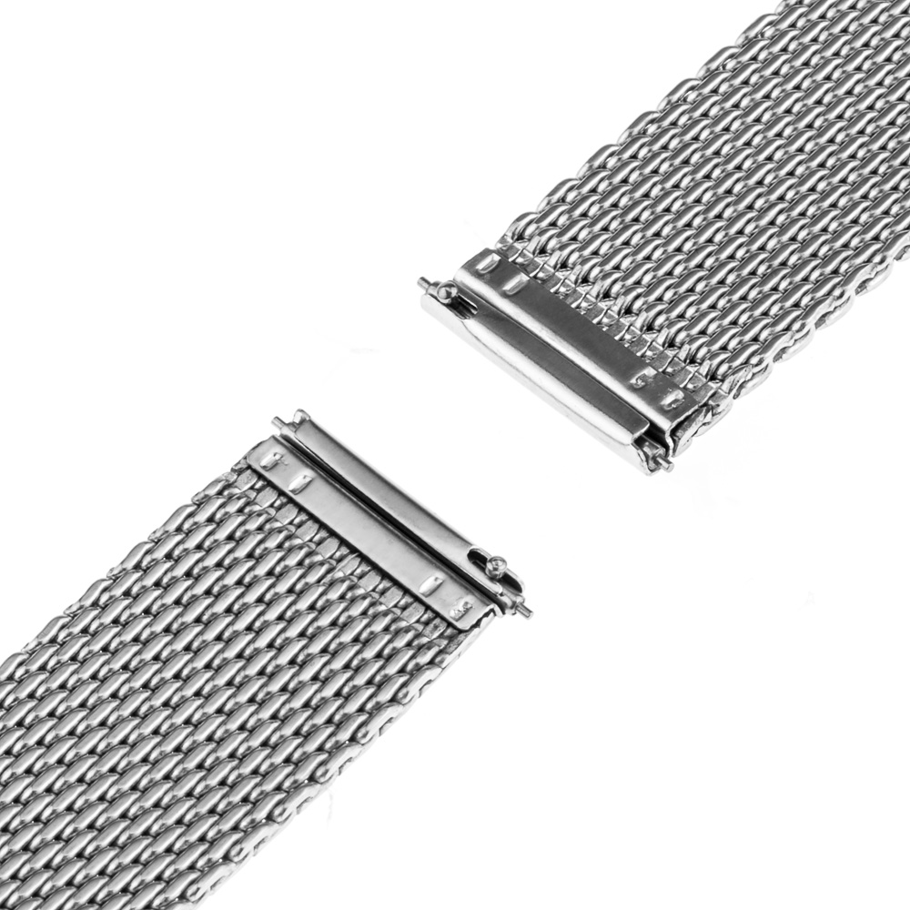 Milanese Mesh Stainless Steel Watch Band 18mm 20mm for DW Daniel Wellington Hook Buckle Strap Wrist Belt Bracelet + Spring Bar