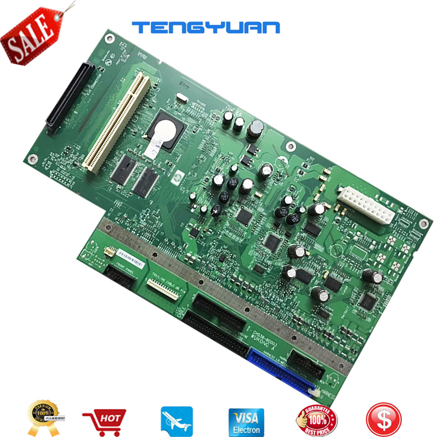 Free shipping Main PCA Control Board for HP Designjet T770 T770 T1200 formatter logic board Plotter Part CH538 80003 CH538 67009formatter boardhp boardshp formatter board -