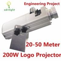 Logo Projector Laserlicht 20-50 Meter Hoge Resolutie Winkel Grote Mall Restaurant Waterdichte IP20 Overheid Techniek Project
