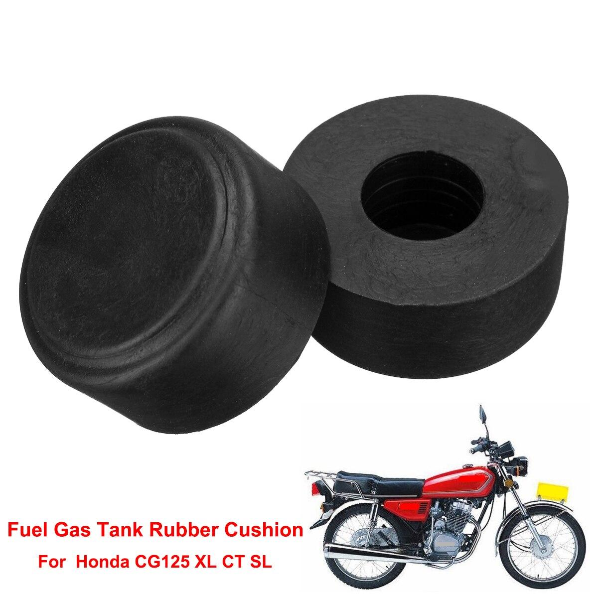 Black Oil Fuel Tank Rubber Mount Cushion Kit for Honda CG125 CG 125 Motorbikes
