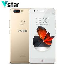 Оригинальный Нубия Z17 без полей 6 ГБ ОЗУ 64 ГБ ROM 5.5 дюймов Android 7.1 мобильный телефон Snapdragon 835 Octa core отпечатков пальцев 23.0MP
