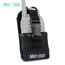 walkie talkie case MSC-20D Nylon Carry Case For Kenwood BaoFeng UV-5R UV-5RA UV-5RB UV-5RC UV-B5 UV-B6 BF-888S Radio Case Holder