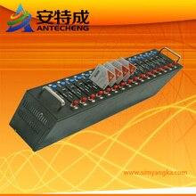 Интерфейс USB gsm 16 Портов беспроводной gsm Q24plus Модем с GPRS