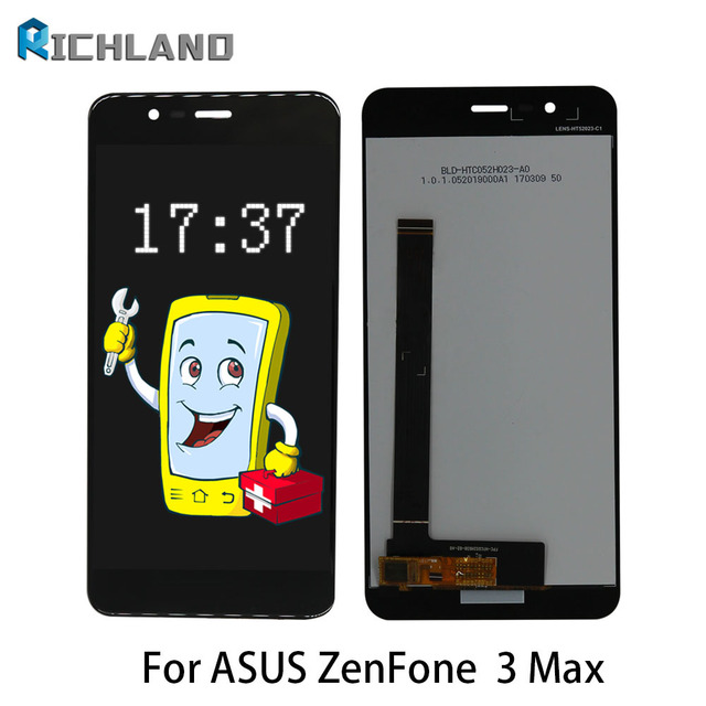 AAA LCD For Asus Zenfone 3 Max ZC520TL LCD Display Screen Touch Screen Digitizer Assembly with Frame Replacement For ASUS X008D
