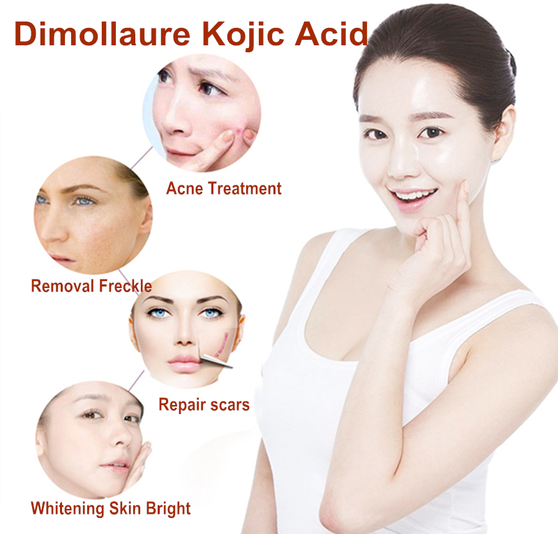 Dimollaure 30g pure Kojic Acid whitening cream Snail Hyaluronic acid serum removal Acne scar pigmentt melanin Moisturizing serum in Facial Self Tanners Bronzers from Beauty Health