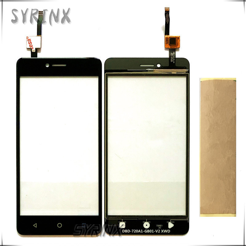 Syrinx With Tape Touchscreen Sensor Panel For DEXP Ixion ML350 Touch Screen Digitizer Front Glass Lens Touchpad Replacement