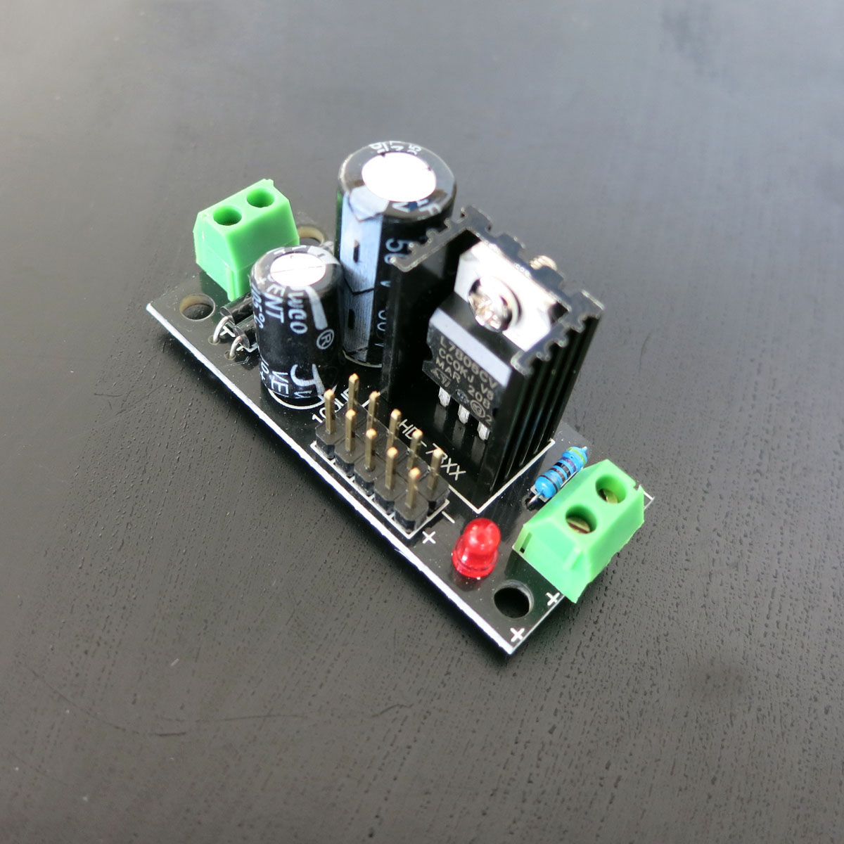 Ic 7806 Voltage Regulator Module 6 V Diy Materials Circuit For Parts Output In Integrated Circuits From Electronic