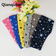 Qianquhui 2017 New Kids Toddlers Girls Star Printed Pants Warm Stretchy Girls Leggings Trousers Children's Clothing Girl