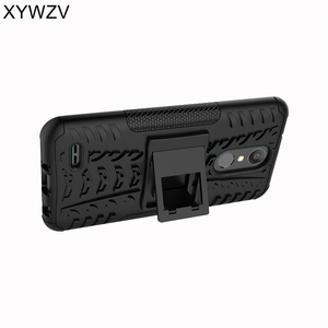 Image 5 - sFor Coque LG K8 2018 Case Shockproof Rubber Hard Silicone Phone Case For LG K8 2018 Cover For LG Aristo 2 Phone Bag Shell XYWZV