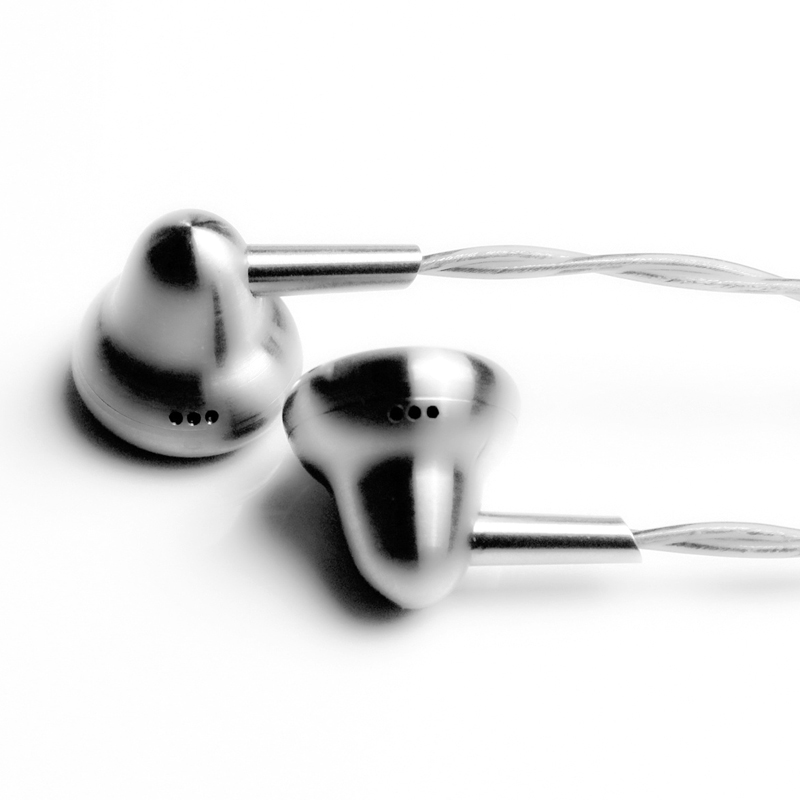 Ksearphone Bell Ti 3 5mm Earbud DJ Bass HIFI Metal Earphone 15mm Dynamic Driver K s