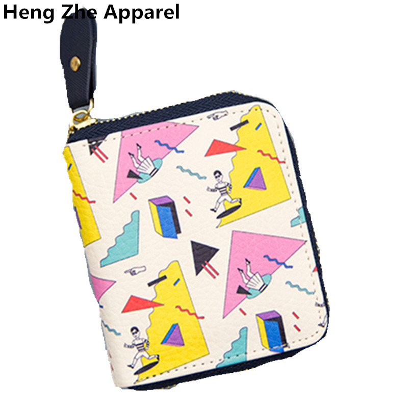 retail wholesale cute Funny little wallet fashion alternative change card package cartoon leather girls purse women coin bag