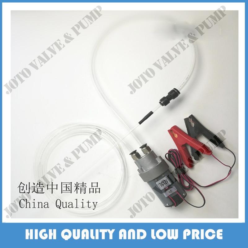 The Whole Set DIY Mini DC Oil Pump 12V Oil Transfer Oil Pump