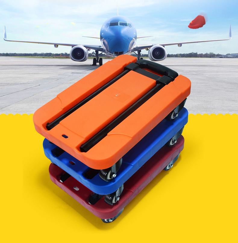 200KG Folding Portable hand trolley flat trolley folding bag trolleys luggage shopping cart Portable Stainless truck trailer new folding portable shopping bag shopping buy food trolley bag on wheels bag on wheels buy vegetables shopping organizer bag