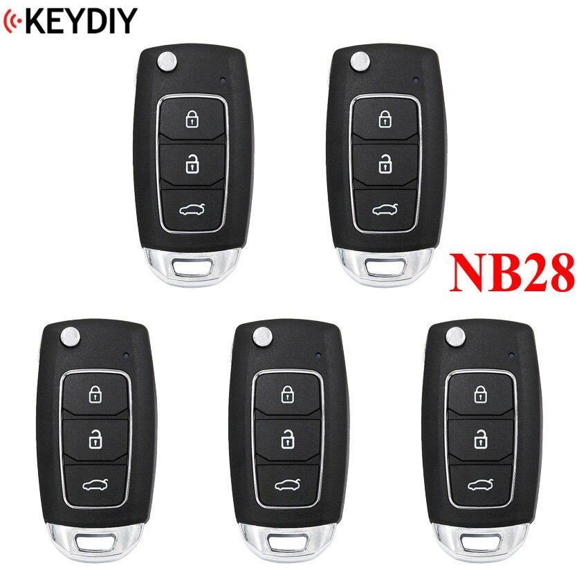 5PCS Multi functional KEYDIY Remote key NB28 for KD900 KD900 URG200 KD X2 5 functions in