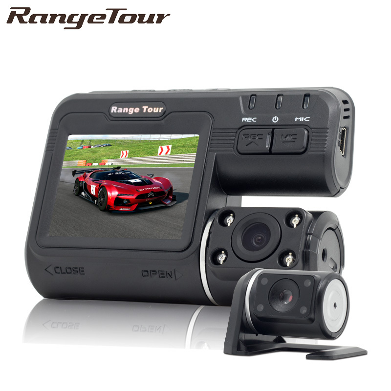 Palette Tour Dual Kamera DVR i1000 Full HD 1080 p Dual Objektiv Dash Cam Video Recorder 2 Kamera Nachtsicht auto DVR Camcorder i1000s