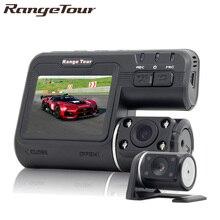 Range Tour Dual font b Camera b font DVR i1000 Full HD 1080P Dual Lens Dash