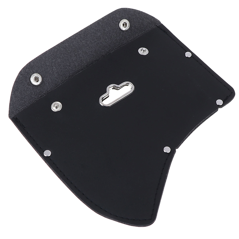 Fashion Design Durable Leather Ax Axe Blade Suitable Cover Mask Sheath With Hook For Camping Outdoor Tools Parts