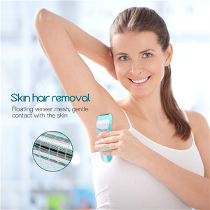Image 4 - 3 In 1 Electric Epilator Women Hair Removal Painless Shaving Foot File Pedicure Tools Machine Female For Face Bikini Body Leg 49