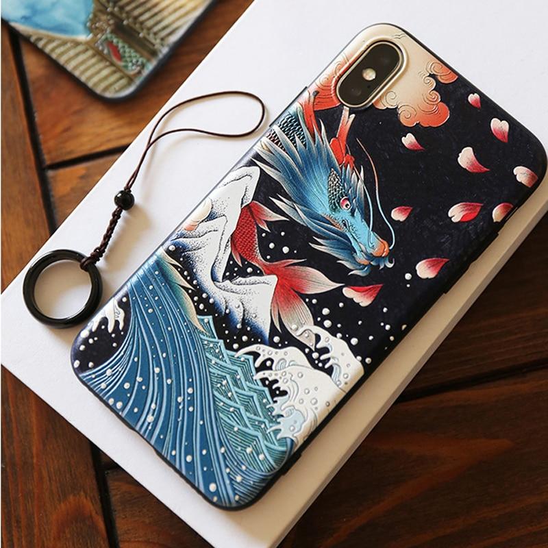 Für iPhone XR XS 10 S Max X 8 7 Plus 6 6 s + Fall Neue 3D Relief Matte weiche Rückseitige Abdeckung LICOERS Offizielle Fall für iPhone X r s Fall