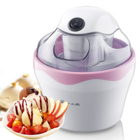 Home Kids DIY Easy Operation Ice Cream Maker 500ML Mini Full-automatic Children Self-made Fruit Ice Cream Making Machine