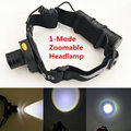1000 Lumens XPE LED Headlamp Black Infrared Sensor Headlight Flashlight Head Lamp Light for Camping By 3xAAA or 1*18650 Battery
