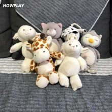 Howplay Plush doll animal dolls Kawaii toys model crib pendant backpack accessories car ornaments cartoon toys for children(China)
