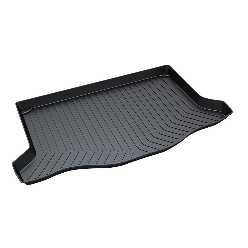 Trunk Tray Mat for Honda FIT,2014-2017 Waterproof Anti-Slip Car Trunk Cover for Honda FIT ,Black trunk mat for honda crv 2012 2017 premium waterproof anti slip car trunk tray mat in heavy duty black