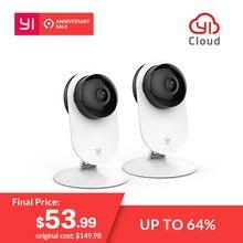 YI 1080 p домашняя камера беспроводная ip-система видеонаблюдения wifi камера видеонаблюдения YI облако доступная камера сова (США/EU Edition) белый