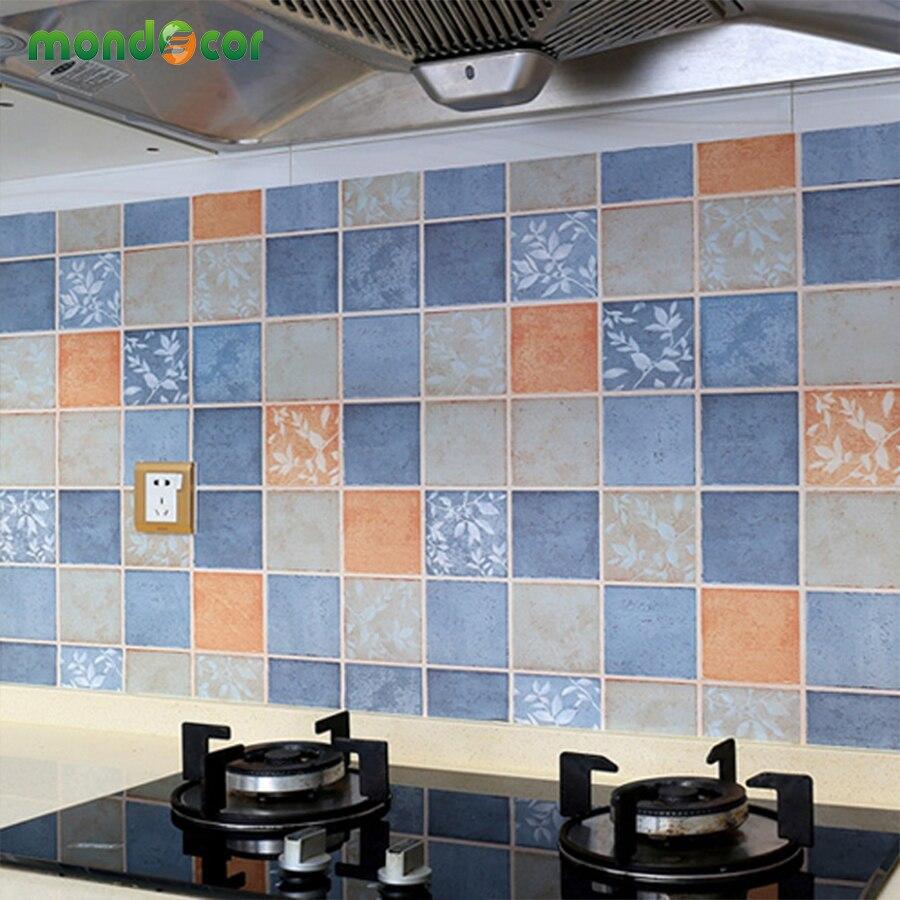 Big Deal Bathroom Wall Stickers PVC Mosaic Brick Wallpaper Kitchen ...