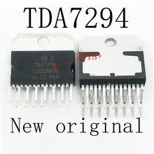 10PCS/LOT   2018+ 100% New original  TDA7294V TDA7294 7294 AUDIO AMPLIFIER IC ZIP-15