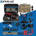 45 in 1 Go Pro Accessories Ultimate Combo Kit W/ Camouflage EVA Case for GoPro HERO5 / HERO4 Session / HERO 5 / 4 /3+ / SJ4000