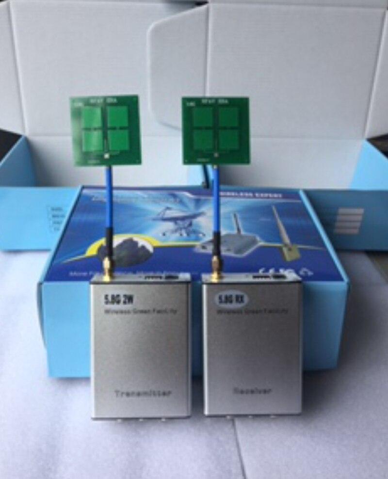 Wireless AV Transmission Module 5.8G 2W Long Distance Wireless Audio Video Launch Module