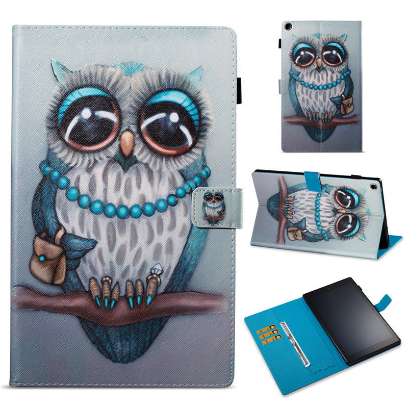 For Samsung Galaxy Tab A 7.0 T280 T285 Cases Printed Girls PU Leather Stand Cover For Samsung Tab A6 7