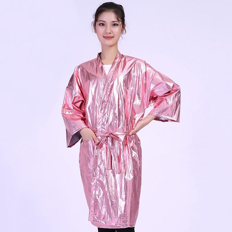 Fashion Salon Beauty Center SPA Customer Gown Elegant Pink