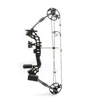 Влево/Вправо рукой стрелок Алюминий сплав Pro блочного Лука с 20 70 фунтов рисовать Вес для взрослого человека стрельба из лука охота