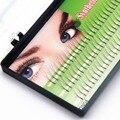 Opções 8mm10mm12mm 3 Flairs NAVINA Cílios Postiços 102 D Chicote Individual Falso Pestana Extensão Natural Longo Preto 3D Kit