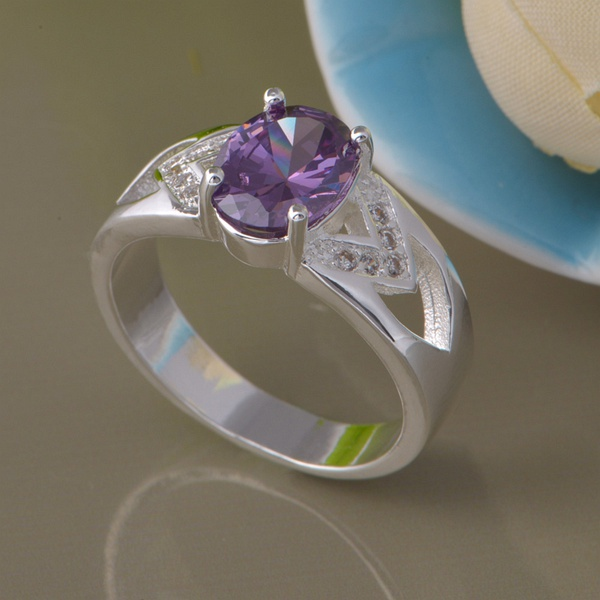 wholesale High quality silver Fashion jewelry rings WR-803