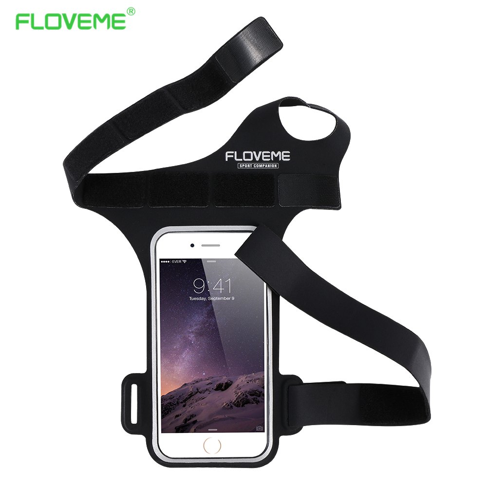 FLOVEME Running GYM Sports Cycling Armband For iPhone 6 6S Plus 5 5S For Samsung Galaxy S8 S8 Plus S4 S5 S6 Edge S7 Edge J5