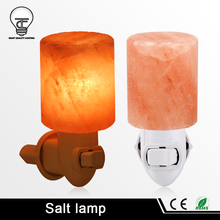 Himalayan Salt Night Light 220V 110V With EU US Plug-in Wall Night Lamp Air Ionizer Purifier Rotatable For Aisle Bedroom Home
