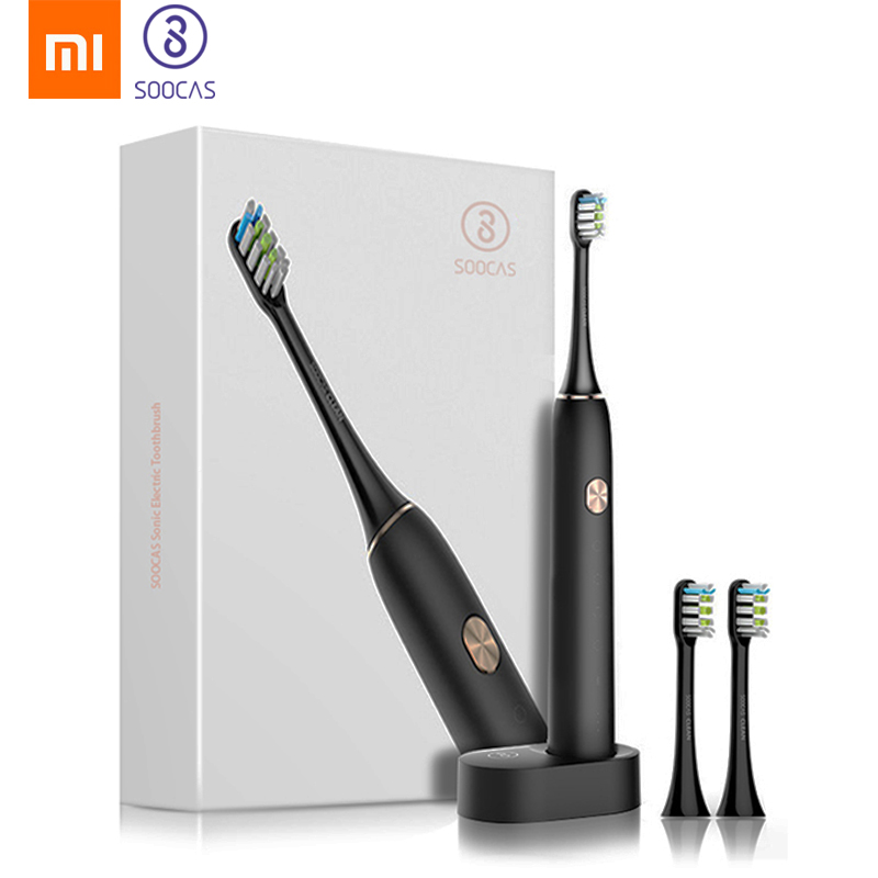 Xiaomi Mijia SOOCAS X3 Sonic Electric Toothbrush Tooth Brush Adult Waterproof Ultrasonic Automatic Tooth Brush USB Rechargeable