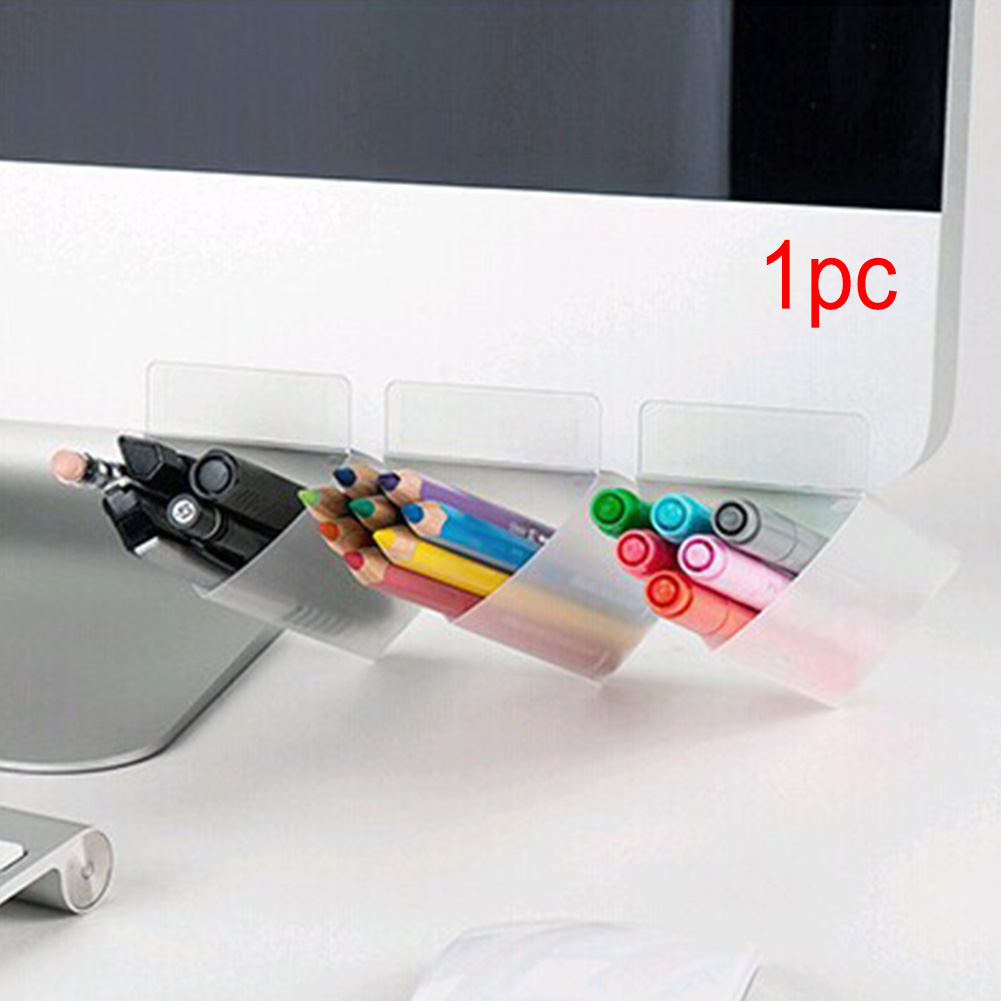 Stationery Storage Pocket Stationary Sidekick Creative Desktop Finishing Supplies Storage Racks DIY Display Auxiliary Stationery