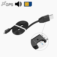 GPS Activity Tracking Alarm Devices Tracker Vehicle Car Locator USB Cable Charger for iPhone Android, Listen Sound GSM GPRS