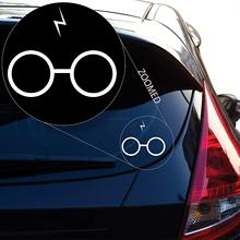Harry Potter Decal Sticker for Car Window, Laptop and More. # 482 (4 X 4.8, White)