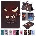 Для iPad Mini 2 Коке Чехол Сна Просыпаюсь Функции Красочные краска Фолио ИСКУССТВЕННАЯ Кожа Стенд Wallet Чехол для iPad Mini 3 2 1