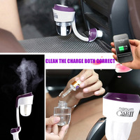 Car Humidifier Air Diffuser Purifier II Generation Aromatherapy Maker Essential Oil Ultrasonic Aroma Air Purifier II