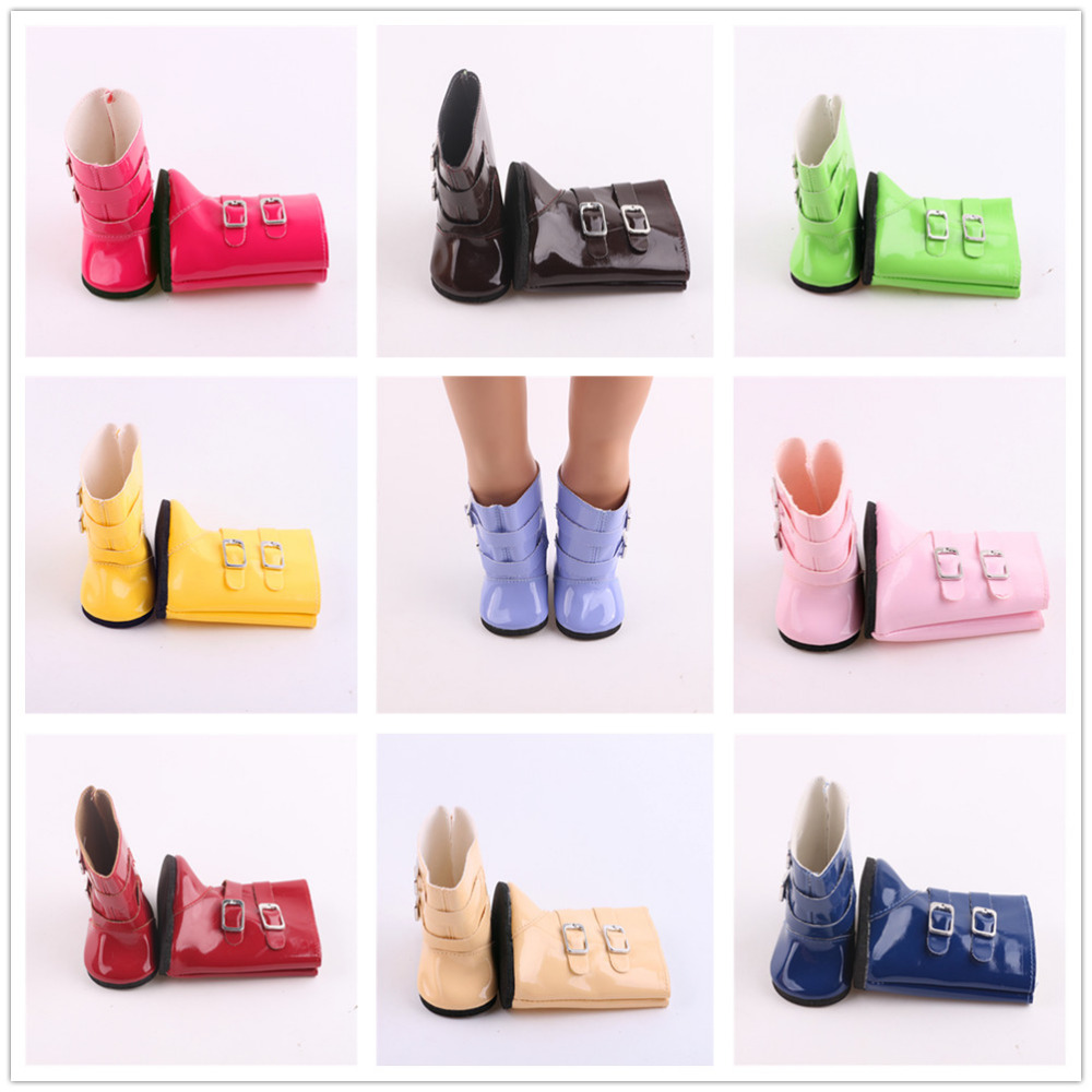 9 different styles boots fit for 18 inch American girl font b doll b font cute
